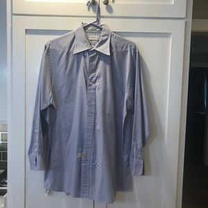 Blue Van Heusen Dress Shirt